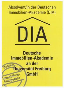 DIA Zertifikat
